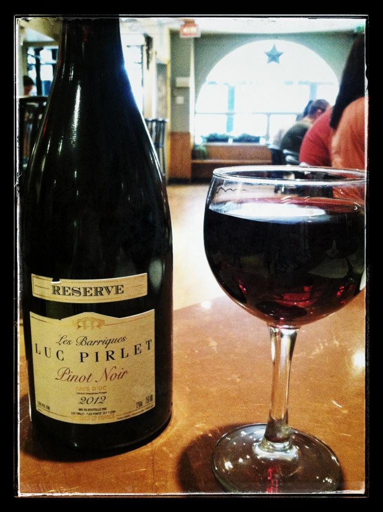Luc Pirlet Reserve Pinot Noir 2012