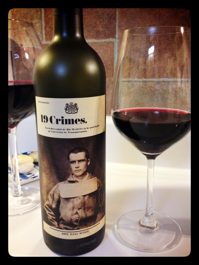 19 Crimes Red Blend 2012
