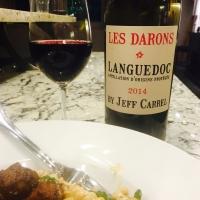Jeff Carrel 'Les Darons' Languedoc AOP 2014