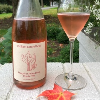 François et Julien Pinon Rose Pétillant Natural Brut Vin de France 2017
