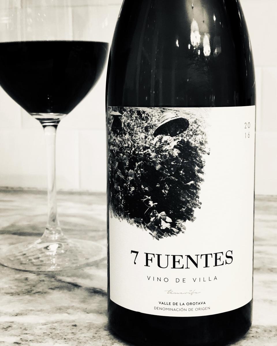 Suertes del Marques '7 Fuentes' Valle de la Orotava DO 2016