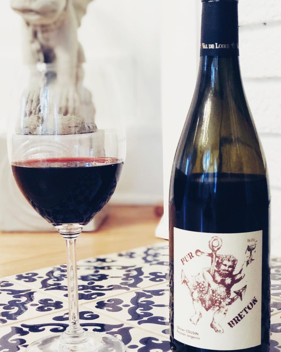 Domaine Olivier Cousin 'Pur Breton' Vin de France 2017